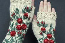 Knitting 2 - Neulominen 2 / Lapasten / Mittens malleja + ohjeita