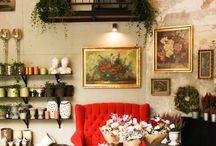 inside our flowershop