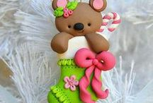 Polymer Clay creations / Great ideas made with polymer clay or fimo