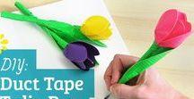 Duct tape ideas diy / Duct tape brilliant ideas diy