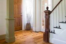 Flooring Love / Flooring that's out of the norm and that leaves me daydreaming for a rustic historic home.
