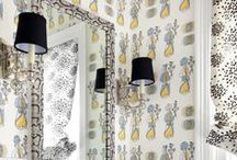 Whimsical Wallpaper / Wallpaper has made a comeback in recent years. This board has gathered many different wallpaper options for inspirations and ideas. / by National Builder Supply