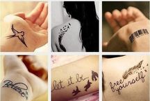 Tattooooooos / Be your own kind of beautiful. / by Ece Sengul ☮