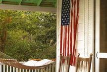 Stars & Stripes / Patriotic decor, plus some literal stars and stripes / by National Builder Supply