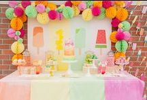 party time / Great ideas for parties.