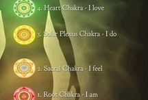 Chakras / Information about Chakras and their relationship to health and wellness.