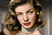 Classic Beauties / Glamorous Gals  & Gorgeous Gents From Years Past