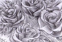 Oeuvres d'autres artistes tatoueurs..references... / Oeuvres buzzées que je vois passer et références...