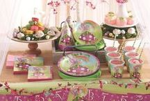 Fairy Parties / Create your own Fairy Fantasia with these fabulous Fairy party ideas, decorations, party supplies and party food.