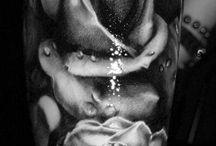 Fleurs réfrences / Références pour projets de tatouages