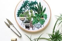 Things I love || Embroidery