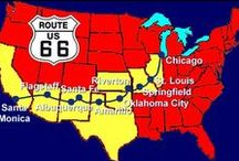 Route 66 / The highway of America before interstate highway system