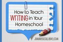 Write! / writing lessons, writing games, writing fun, elementary students, homeschool writing