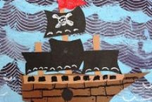 pirate school / pirate theme, kindergarten, elementary school, lesson plans, pirate unit studies