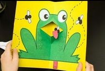 frog school / nature study, frog theme, Frog & Toad