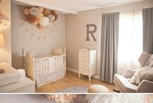 Decor: Kids Rooms / ideas for how to decorate nurseries and big kid rooms!