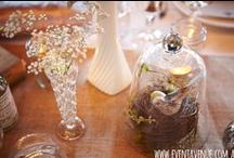 Vintage Wedding Styling and Centerpieces Ideas / Vintage style table centerpieces and wedding styling ideas by Event Avenue