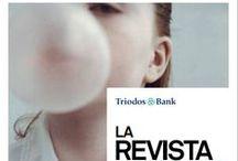 Revista Triodos   Portadas y fotos / Portadas de la revista trimestral de Triodos Bank, con resumen de contenidos y enlace a la publicación