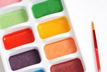 Crazy Kid Concoctions Class / Make glue, paint, chalk, stampers, plastic, and so much more! Perfect for a Homeschool Co-op Class. Learn the science behind the art.
