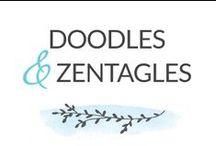 Doodles & Zentangles / Doodles. Zentangles. Illustration. Design. / by Jamey Ekins