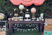 Party Planning: Vintage Hot Air Balloon party