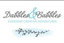 Dabbles & Babbles / Images from the Dabblesandbabbles.com blog. crafts. crochet. printables. freebies. kids coloring pages. sewing. soap making. tutorials. tips. how to. makers. blogger. diy. beauty. recipes. cooking. activities for kids. sewing. adult coloring pages. creative. design. illustration. photography. / by Dabbles & Babbles