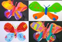 Collage Art / Great collage art projects for children.