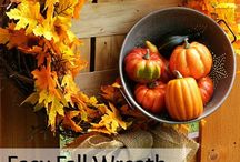 AUTUMN DECORATING & CRAFTS / by Linda Gilliam