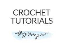 Crochet Tutorials / how to crochet. crochet inspiration. crochet patterns. crochet ideas. crochet blankets. crochet cowls. crochet hats. crochet scarfs. crochet shawls. free crochet patterns. crochet printables. crochet tutorials. crochet slippers. crochet toys. crochet accessories. crochet afghans. crochet ponchos. modern crochet. crochet for kids. granny squares. crochet flowers. / by Dabbles & Babbles