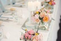 Wedding Bridal Tables Decoration Ideas / Wedding bridal tables and decorating by Event Avenue