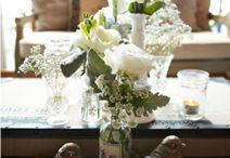 Rustic Wedding Styling Centerpieces Ideas / Rustic and vintage weddings, table centerpieces and decorations we have styled at Event Avenue