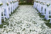 Wedding Aisles and Ceremony decoration styling ideas by Event Avenue / Different styles of wedding aisles and ceremonies by Event Avenue