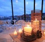 Candle Table Centerpiece ideas / Candle table centerpieces for wedding styling