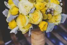 Yellow Wedding colours, ideas and inspiration