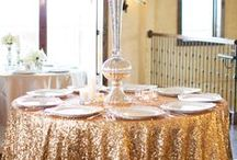 Gold Wedding colours, ideas and inspiration
