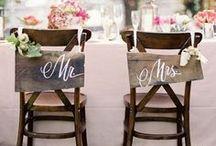 Vintage and Rustic Wedding Inspiration / Ideas and inspiration for your vintage and rustic styled wedding