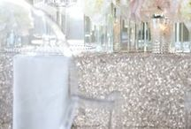 Bling diamonte sparkle wedding ideas / Ideas and Inspiration for your bling wedding