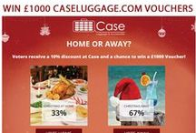 Home or Away? / The Case Luggage 2014 Christmas Competition! Would you rather stay at home this Xmas or somewhere far far away?