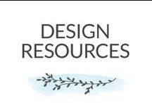 Design Resources / Design resources for web and print design. / by Dabbles & Babbles