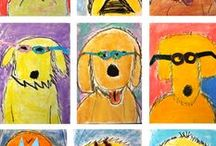 Story Art / Art lessons and art projects for children based on a picture books--a wonderful way to connect art and children's literature.