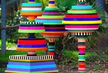 Recycled Art Projects for Kids / Recycled art projects for kids. Homeschool co-op class ideas.
