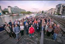 Reunión europea de empleados 2015 en Bristol / Encuentro anual entre empleados europeos de Triodos Bank, realizado en Bristol, Capital verde europea 2015. El evento es una ocasión para compartir experiencias y conocer mejor iniciativas sociales, culturales y medioambientales de otros países.