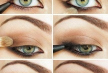 Eye Makeup How-to's / by Holly Griffin