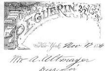 Historical Stuff / Documents, pictures, sketches dating back to our founding in 1857