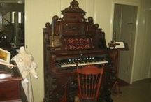 Music Room Atwood House / Photos and archival information about the Music Room in the Historic Atwood House, Chatham, MA. #musicroom, #music, #organ, #chathamistoricalsociety, #atwoodhouse, #chatham, #capecod