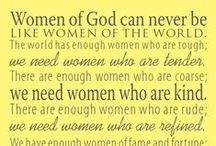 FAITH ~ WoMeN 'n' Ministry / Women of Faith, women in the Bible, Ministry ideas for women in the church. Lots of Inspiration, walking by faith, fellowship & examples of how to live out our lives & our calling from God to be the women He desires. We are called to be women, wives, mothers, Proverbs 31 & Titus 2 Ladies!  / by Deborah Schuerman
