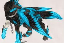 WingedWolfClan / She Howls At Midnight,Mist Drifts From Her Singing Jaws,And Starlight Hits The Snow.- Veera Wisdom,leader of WingedWolfClan.