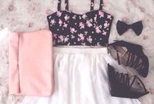 Only floral outfits
