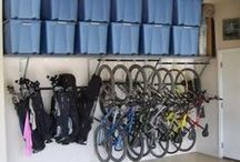 Garage Storage Ideas / Great ideas to turn your garage into storage space