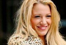 Blake Lively / Blake Ellender Lively nacida como Blake Ellender Brown (25 de agosto de 1987, Los Ángeles) es una actriz y modelo estadounidense, conocida por interpretar a Serena van der Woodsen, en la serie Gossip Girl (The CW). / by Seb A